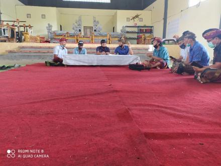 Rapat Tindak Lanjut Bantuan Gubernur Bali